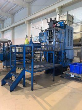 Hydramet Model HC-30B, 30 Ton Hydraulic Compacting Press (AA-8053)