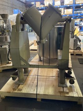 Patterson-Kelley Stainless Steel 2 Cu./Ft. Twin Shell (Vee) Blender (AA-8081)