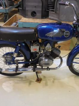 Aermacchi / Harley Davidson 1968 Model 125 CC Rapido (AA-3629)