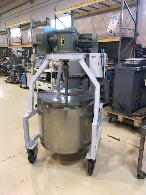 Custom S.S. Jacketed, 2.2 KW Motor (AA-5958)