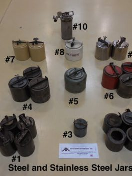 Various Steel Mill Jars (AA-6265)
