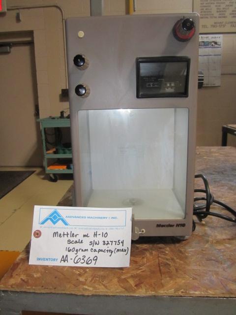 Mettler Scale Model H10 (AA-6369)