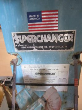 Super Charger Texas Heat Exchanger Model UX096HJ-18 (AA-6577)