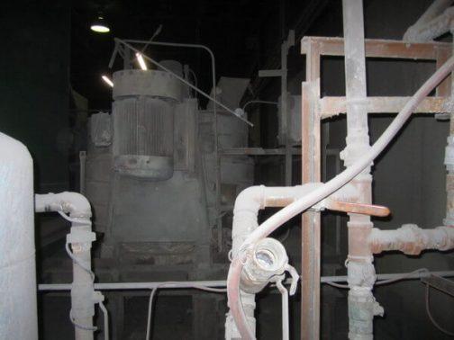 Eirich Model DEV-22, 81 cu ft. (2,250 liters) Intensive Action Mixer (AA-6607)