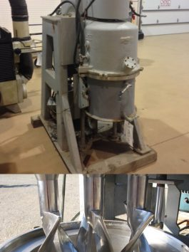 Bramley Beken Stainless Steel, Vertical Triple Shaft Mixer, Model PL5(AA-6765)