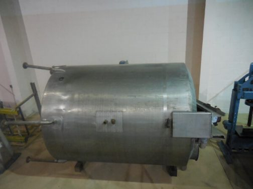 Vertical Agitated Stainless Steel Process Tank (AA-6797)