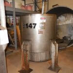 Perma-San Agitated Stainless Steel Process Tank (AA-6844)