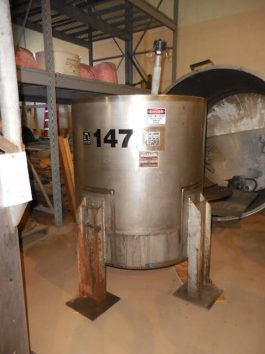 Perma-San Agitated Stainless Steel Process Tank (AA-6844)