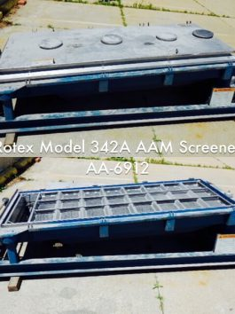 Rotex Model 342A AAM General Purpose Rotex Screener (AA-6912)