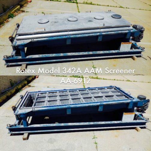 Rotex Model 342A AAM General Purpose Rotex Screener (AA-6912)