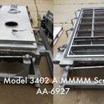 Rotex Model 3402 A MMMM General Purpose Rotex Screener (AA-6927)