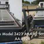 Rotex Model 3423 AAAML General Purpose Rotex Screener (AA-6928)