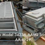 Rotex Model 3423A AAML General Purpose Rotex Screener (AA-6929)