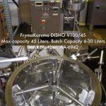 FrymaKoruma 1.6 cu. ft. Processor DISHO V100/45 (AA-6942)