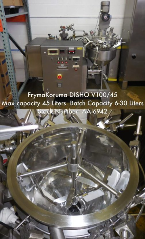 FrymaKoruma 1.6 cu. ft. Processor DISHO V100/45 (AA-6942)