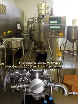 FrymaKoruma 7 cu. ft. Processor DISHO V140/200 (AA-6943)