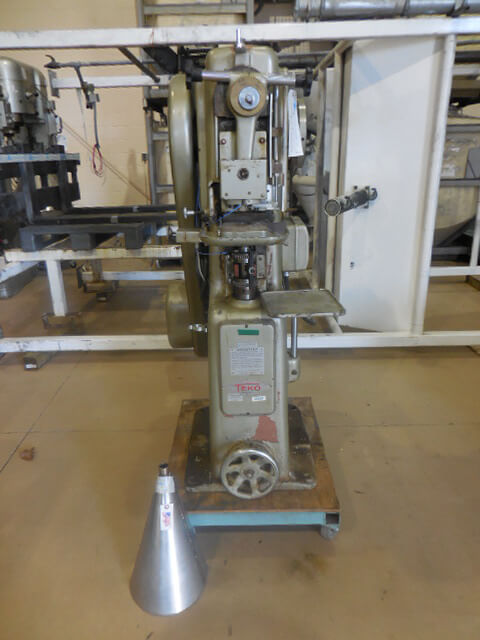 Manesty Model F-3, 4 ton Mechanical Compacting Press (AA-6977)