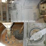 Eirich Model DE-18, 36 cu ft. (1,019 liters) Intensive Action Mixer (AA-6980)