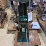 Carver Model C 12 Ton Lab Platen Press (AA-6998)