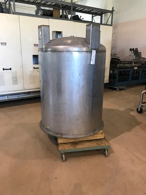 Vertical Stainless Steel Process Tank (AA-7047)
