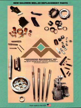 Baldwin Model 20 New Replacement Parts (AAP-2222)