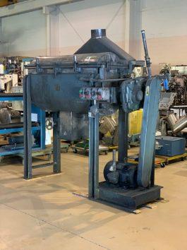 Paul O. Abbe Jacketed Drying Ribbon Blender Model HM 5V(AA-8054)